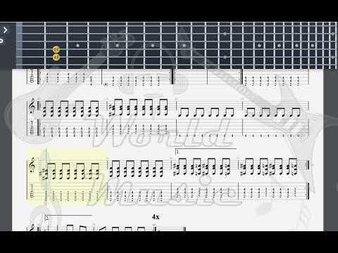 Green Day 2000 Light Years Away GUITAR TAB - YouTube