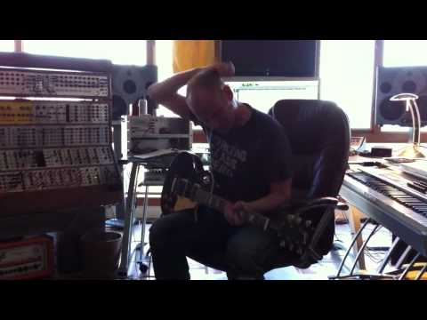 Tron remix guitar recording