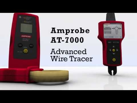 amprobe at 7000 advanced wire tracer youtube  amprobe receiver r 4000 wire tracer