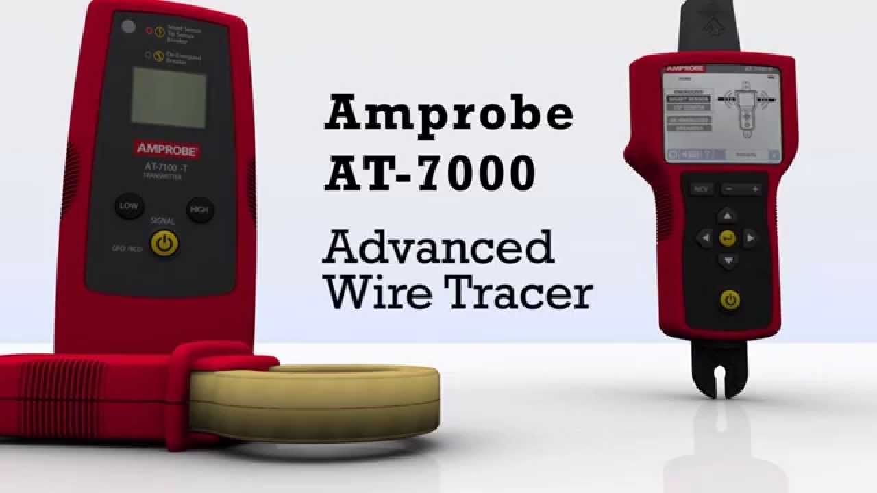Amprobe AT-7000 Advanced Wire Tracer - YouTube