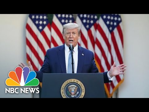 Trump Delivers Remarks On Operation Warp Speed | NBC News