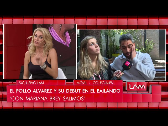 El Pollo Álvares reconoció que tuvo un tuch and go con Mariana Brey