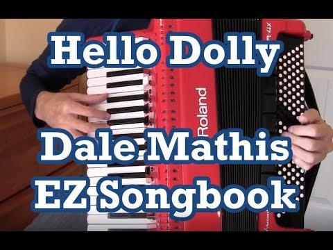 Roland FR4x accordion Hello Dolly + EZ Songbook