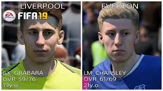 FIFA19 NEW REAL FACE LIST PART 4