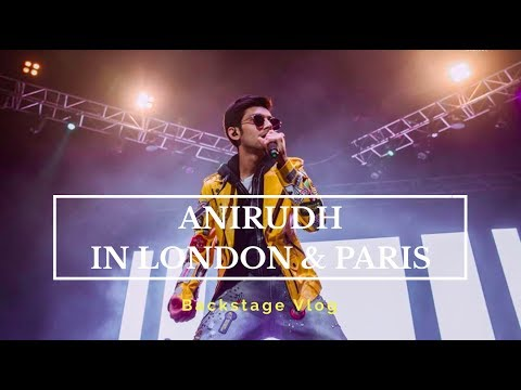 Anirudh in London & Paris | Vlog | Vithya Hair and Makeup Artist