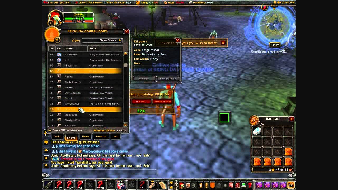 Guide To Making Large Guilds Super Guild Invite Wow World Of