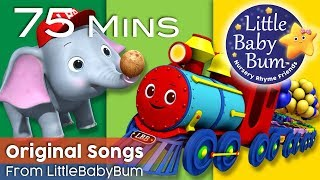 Popular Children's Songs | Nursery Rhyme Videos | By LittleBabyBum!