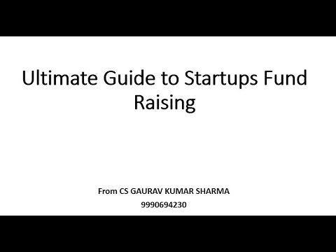 Startup Funding India Guide