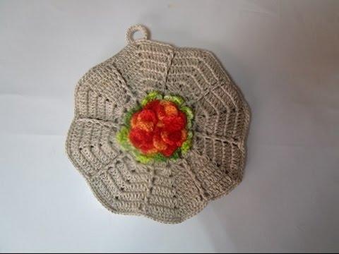 Uncinetto Crochet Presina Stella Fiore Youtube