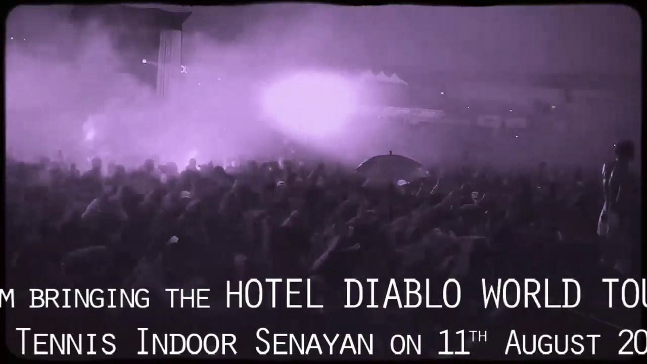 Machine Gun Kelly Hotel Diablo Tour in Jakarta image