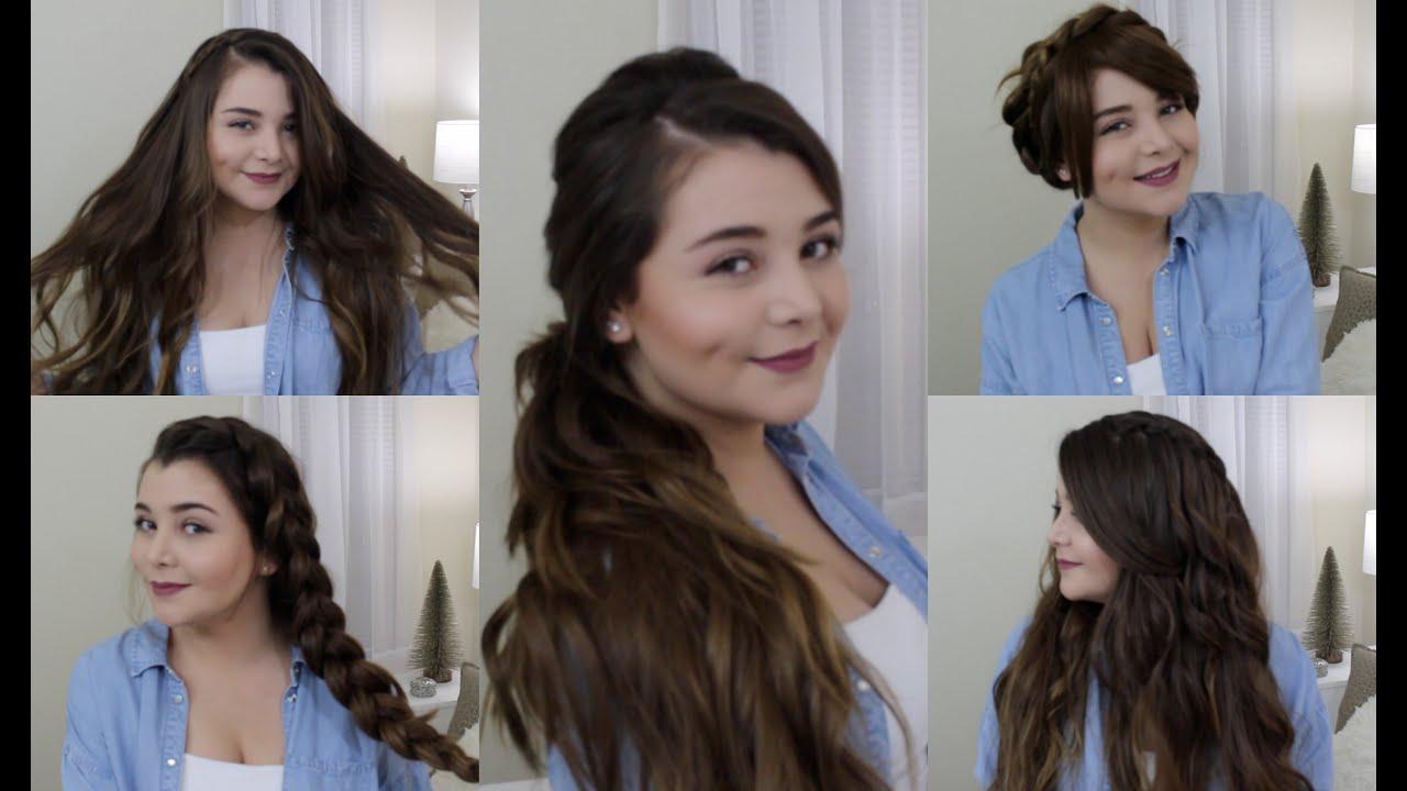 Sencillo y bonito peinados para clases Galería de cortes de pelo estilo - Peinados para cada día de la semana - Regreso a Clases ...