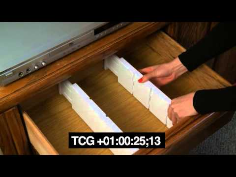 Item # 6605 Expandable Plastic Dresser Drawer Dividers, 5 Pcs Set