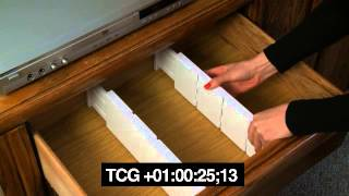 Item # 6605 Expandable Plastic Dresser Drawer Dividers, 5 Pcs Set