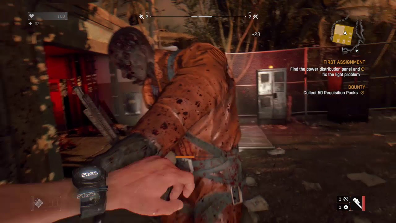 Dying Light First Ignment And Some Side Quests Nightmare Mode Part 2
