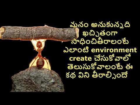 అనుకున్నది సాధించాలంటే ఎలా?   How To Reach Goals   Telugu Moral Stories   Telugu Trait