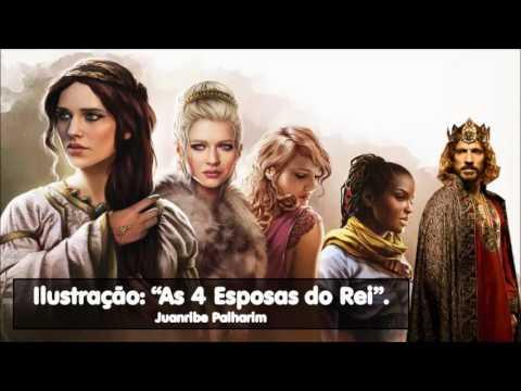 Ilustração: As Quatro Esposas do Rei - Juanribe Palharim