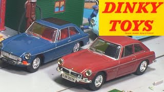 Diecast Cars~ Retro Dinky Toy Collection ~ Old Toy Car Finds