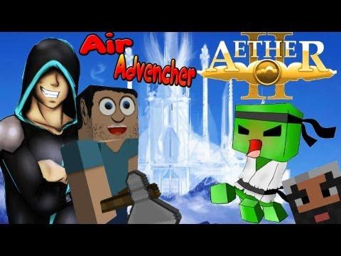 Не Званный Гость С Динамитом!!! Заоблачные Приключения(Air Advencher) №1 - Видео из Майнкрафт (Minecraft)