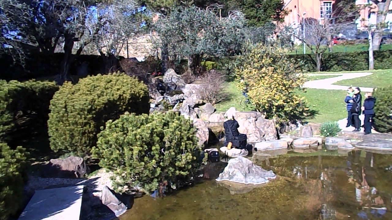Giardino giapponese all istituto di cultura di roma video