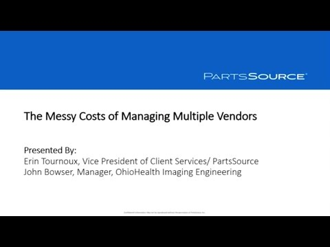 The Messy Costs of Managing Multiple Vendors