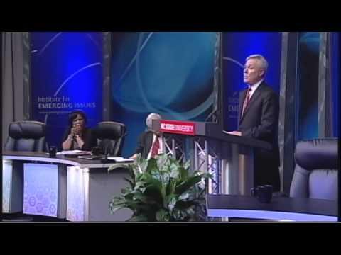 Secretary Ray Mabus speaks at Emerging Issues Forum