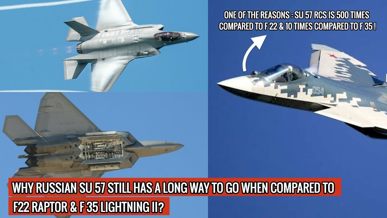 Download HEAD OF THE SUKHOI DESIGN BUREAU CLAIMS SU 57 IS SUPERIOR TO F22 & F 35 - 3 REASONS WHY HE IS WRONG!