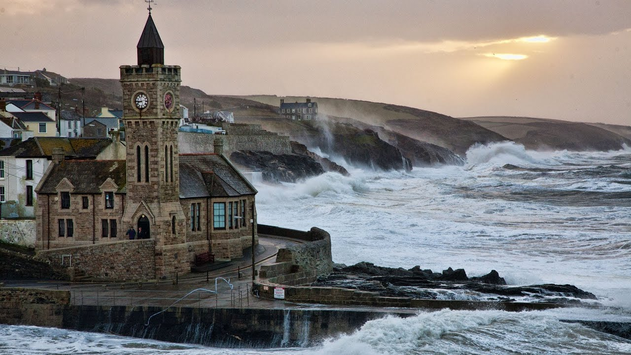 porthleven biggest storm in 10 years hd youtube. Black Bedroom Furniture Sets. Home Design Ideas