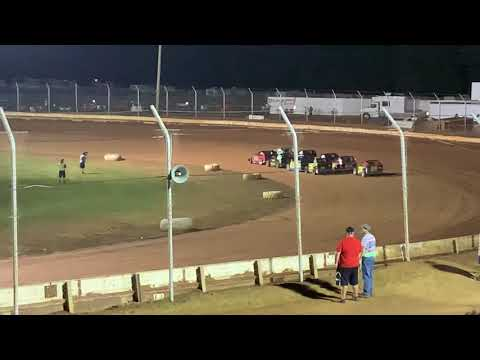Sharon Speedway Mark Marcucci Memorial 9-21-19 ModLite Heat #2