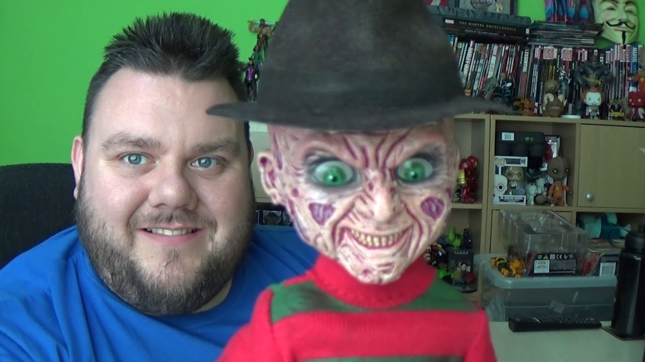 On Elm Street NIGHTMARE Freddy Krueger Living Dead Dolls Mezco