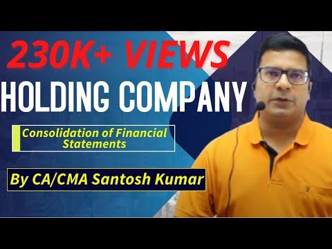 Holding Company by santosh kumar (CA,CMA)