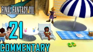 Final Fantasy VII Walkthrough Part 21 - Costa Del Sol