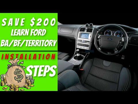 BA Falcon Stereo Upgrade: How To Install Ford BA/BF/Territory Head Unit? (2019)