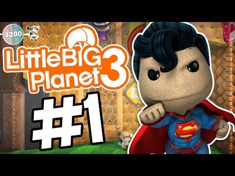 NYOBAIN GAME UNYU UNYU BARENG DOI AH :3 - LITTLE BIG PLANET 3