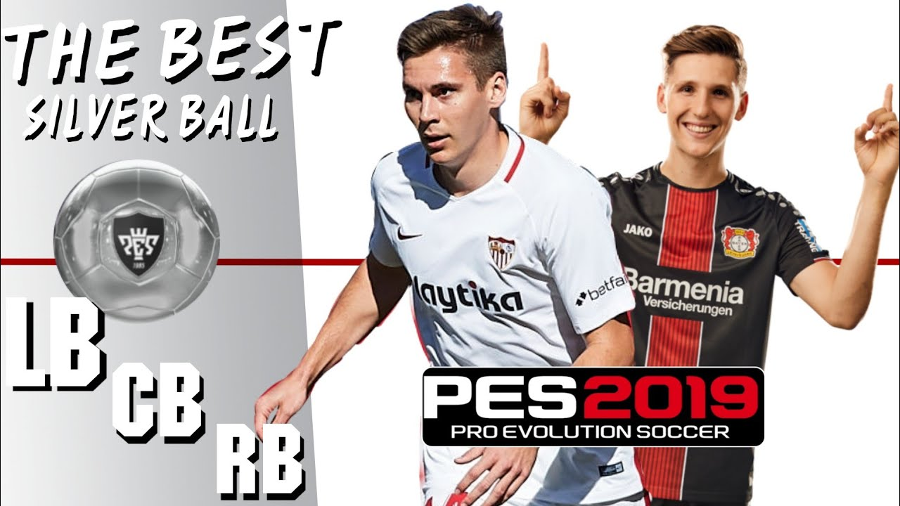 Best Silver Ball Defenders (LB, CB, RB)  PES 2019