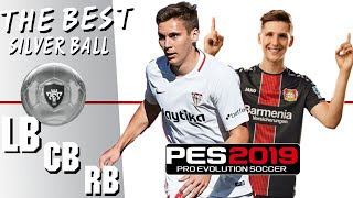Best Silver Ball Defenders (LB, CB, RB)| PES 2019