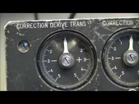 Vintage avionics teardown Attitude and heading calculator