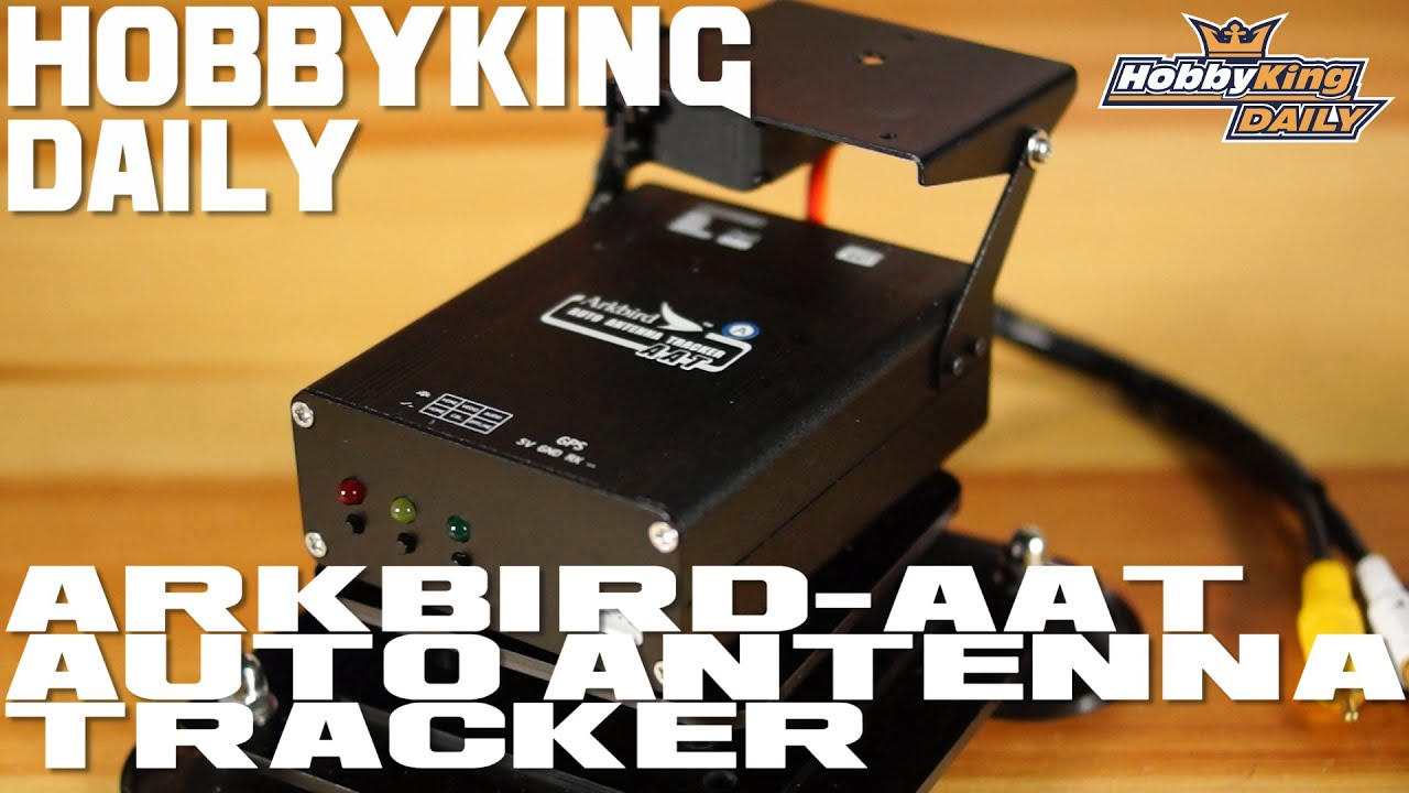 Arkbird-AAT Auto Antenna Tracker System w/Ground and Airborne Module