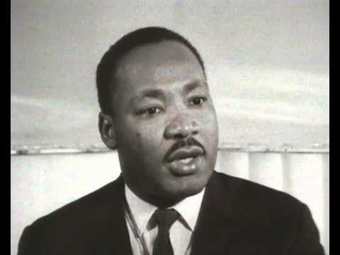 Martin Luther King Jr. interview
