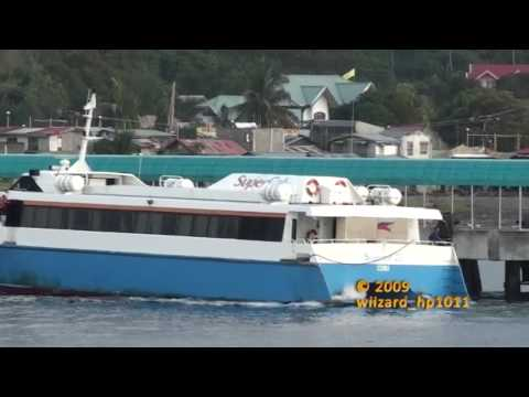 Supercat 22 leaving the berth @ Calapan City, Oriental Mindoro, Philippines.mp4