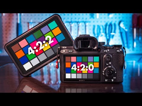 Sony A7III and Atomos 4:2:0 vs 4:2:2 Comparison - Is 4:2:2