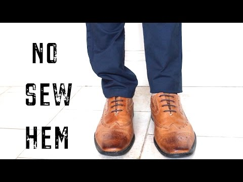 how-to-easily-hem-pants-fast-|-no-sew-life-hack-|-cheap-tip-#222