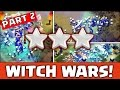 Clash of Clans - Mass Witches in WAR Does it work!?