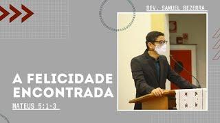 31/01/2021 - A FELICIDADE ENCONTRADA