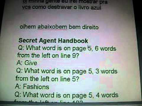 Como Destravar O Livro Azul Do Club Penguin Com Secret Agent