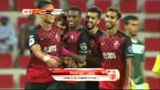 Goal by Rodrigo Lima AGL 1 Al Ahli vs Fujairah 2015 16