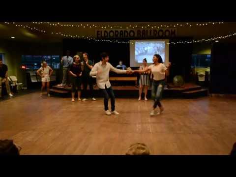 Houston Swing Dance Society Teacher Demo 6-3-18