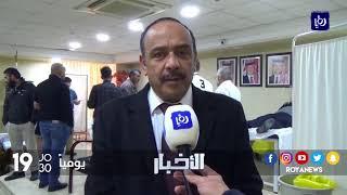 الزرقاء .. حملة للتبرع بالدم لصالح مركز الحسين للسرطان احتفالا بميلاد جلالة الملك - (1-2-2018)