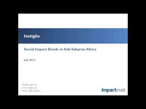 Impact Insights: Social Impact Bonds in Developing World Mar