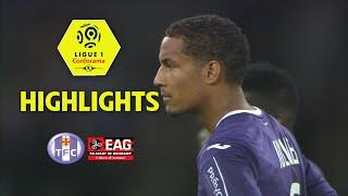 Toulouse fc - ea guingamp ( 2-1 ) - highlights - (tfc - eag) / 2017-18