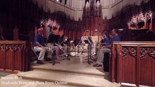Jurassic Park Medley | Plum Brass Quintet and Shadyside Brass
